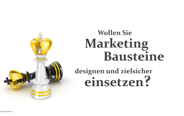 Marketing Bausteine