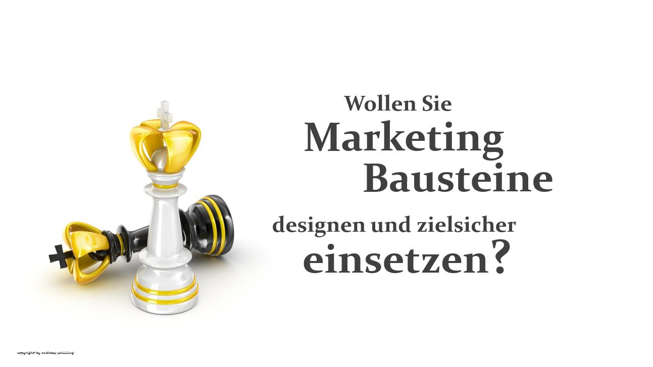 Marketing Bausteine