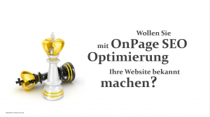 OnPage Optimierung