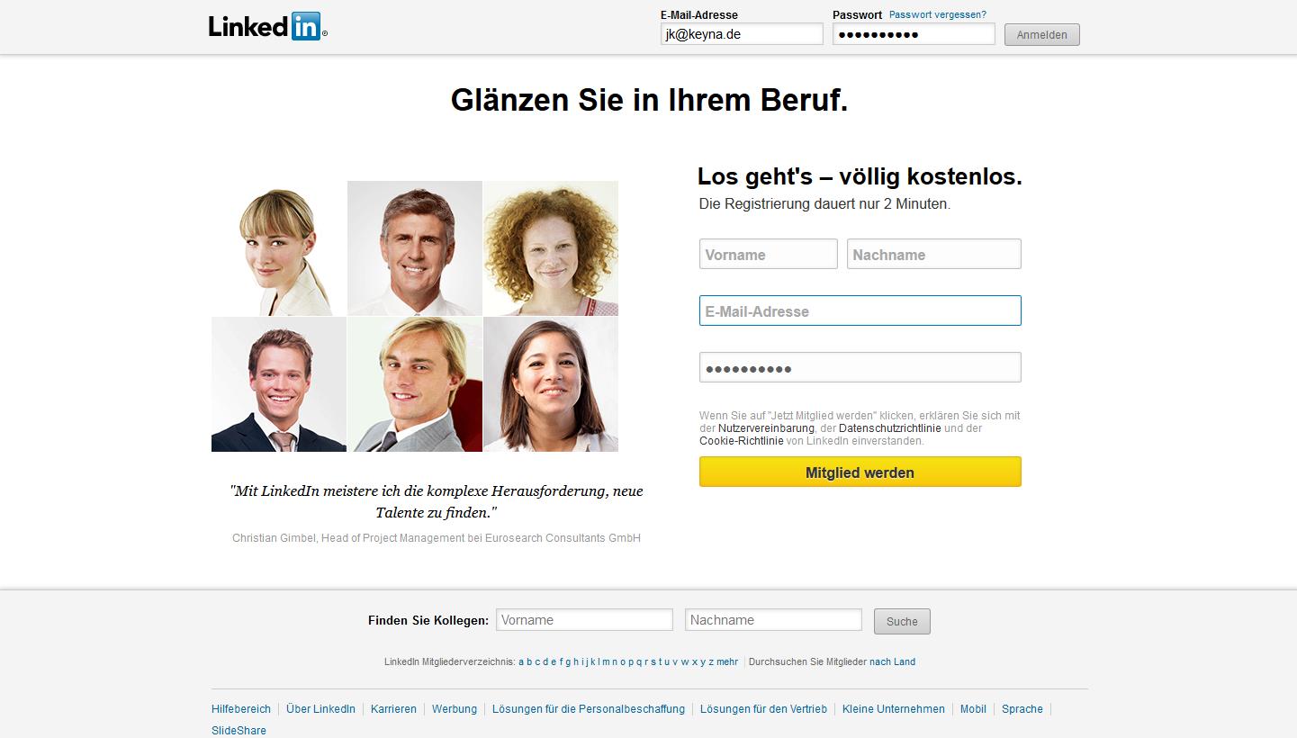 LinkedIn Account