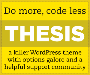 thesis wordpress tutorials video