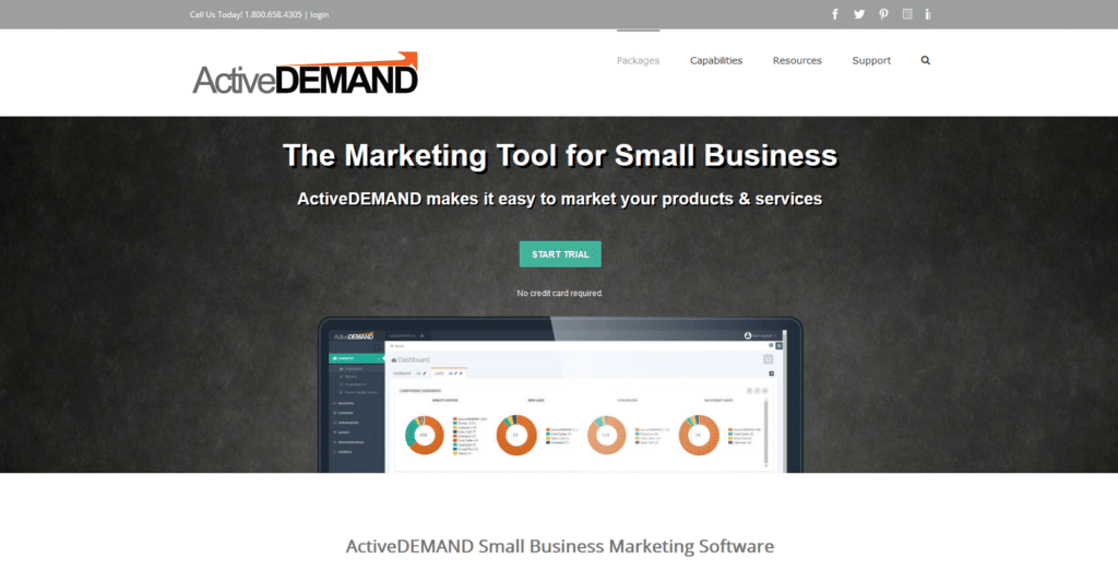 Marketing Automation Software Active Demand