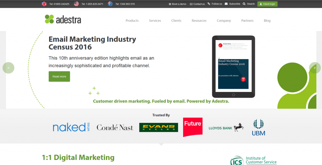 Marketing Automation Software Adestra