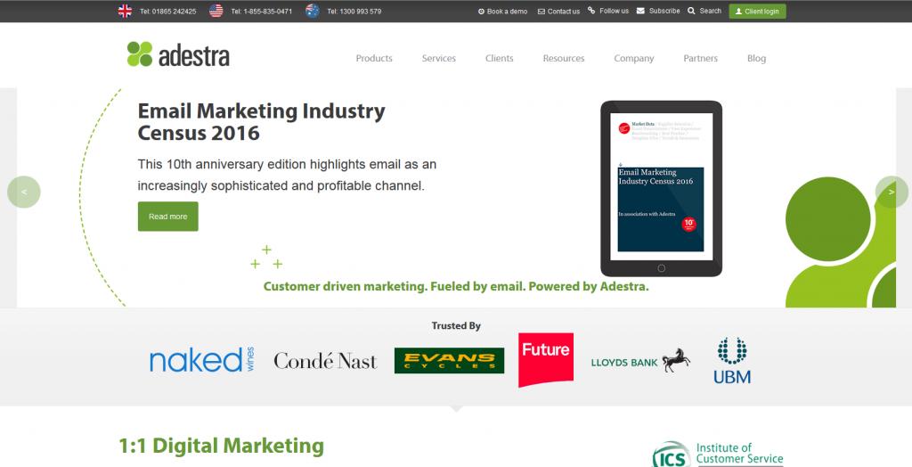 Marketing Automation Software Adestra