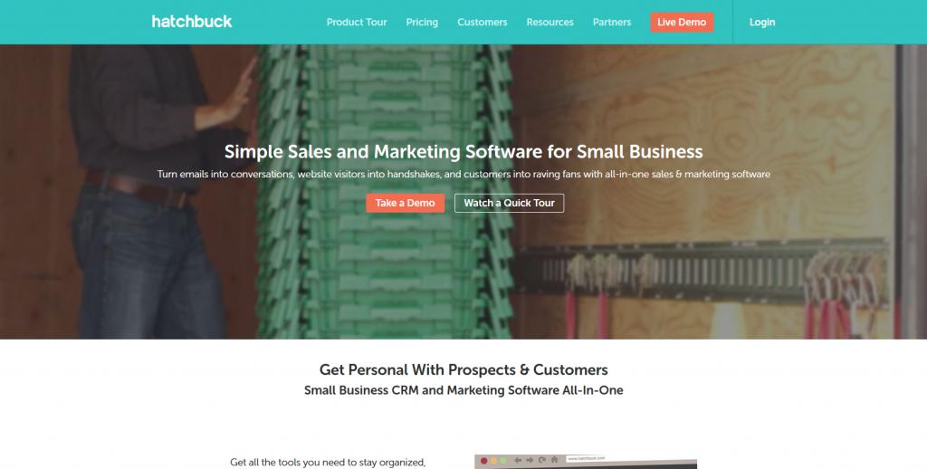 Marketing Automation Software Hatchbuck