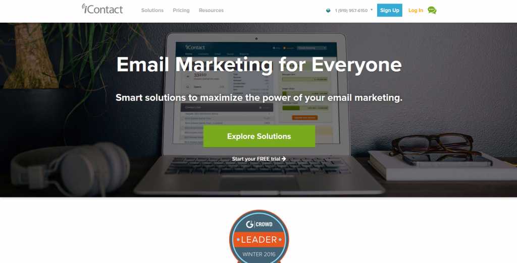 Marketing Automation Software i-contact