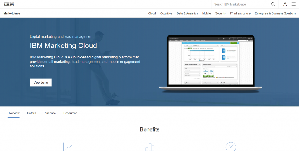 Marketing Automation Software IBM Marketing Cloud