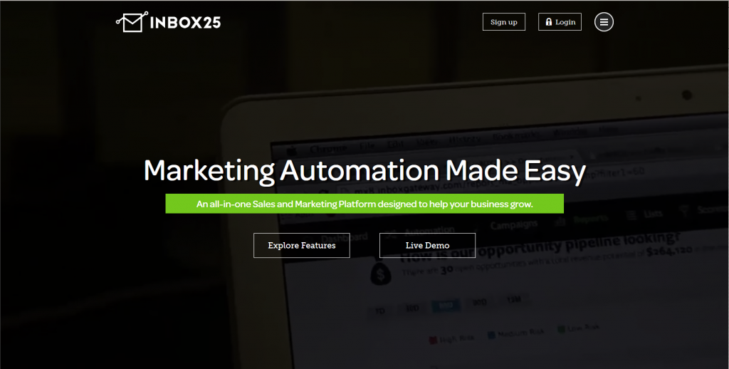 Marketing Automation Software inbox25