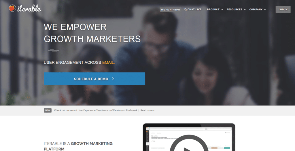 Marketing Automation Software Iterable