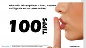 Rabatte für Existenzgründer – Tools, Software und Tipps die Kosten sparen wollen