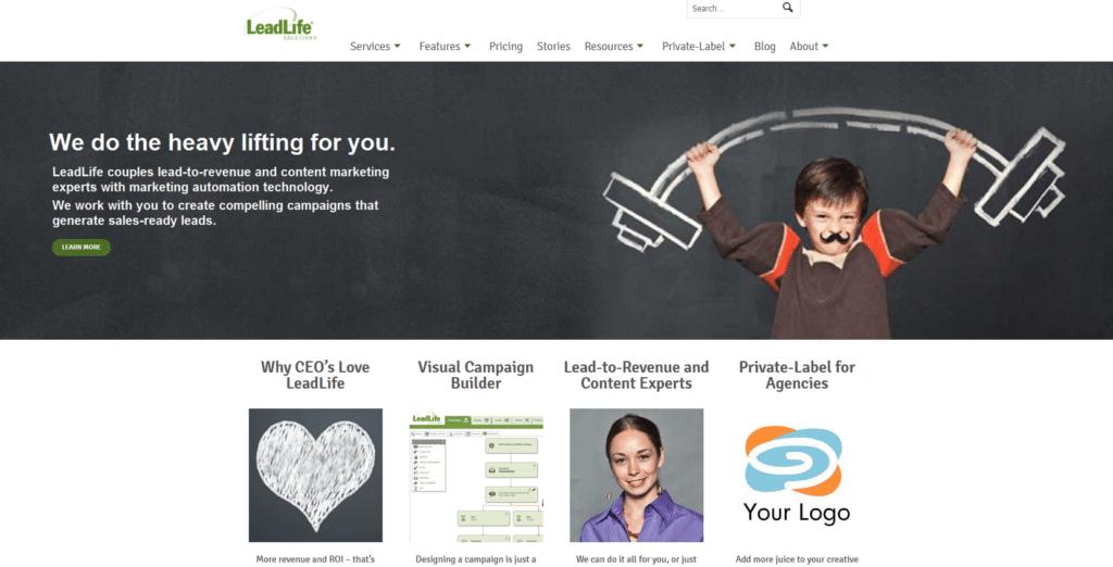 Marketing Automation Software Leadlife