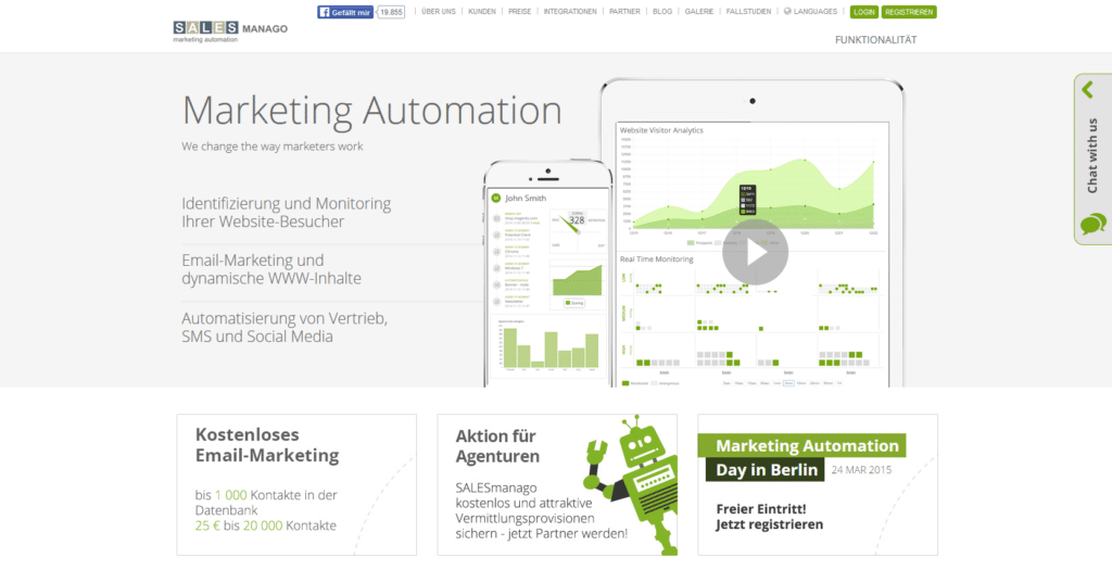Marketing Automation Software SalesManago