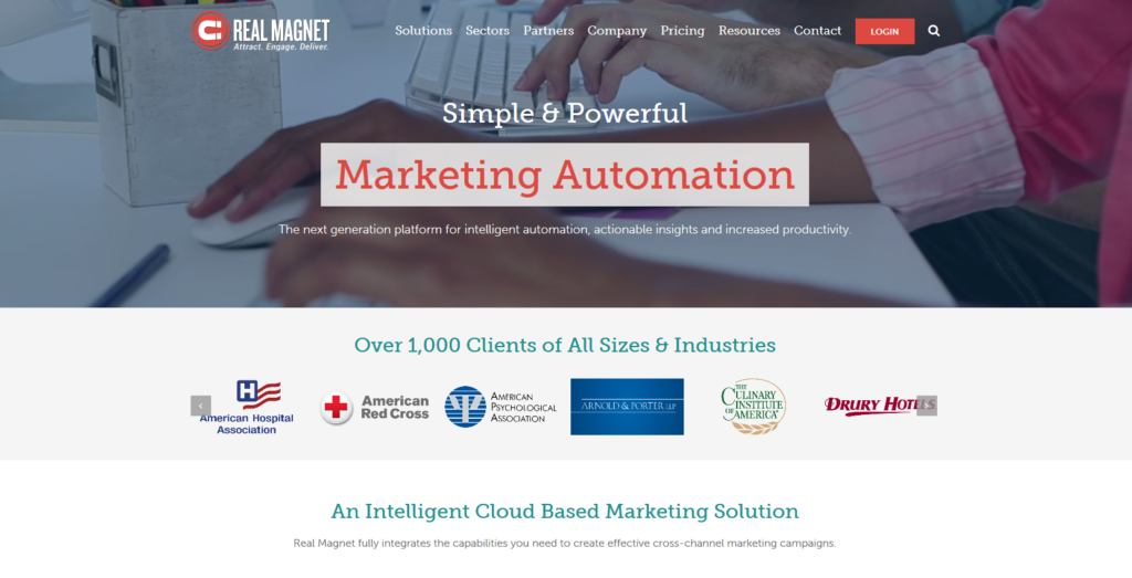 Marketing Automation Software Real Magnet