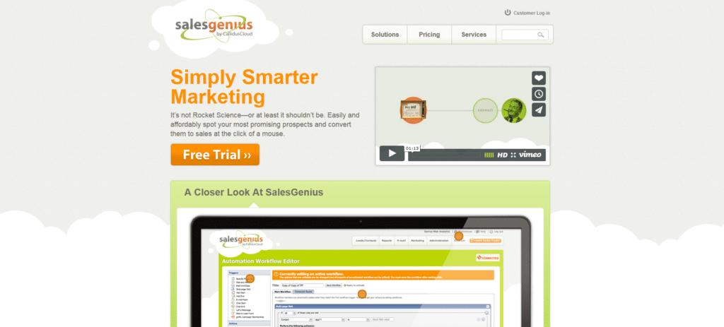 Marketing Automation Software Salesgenius