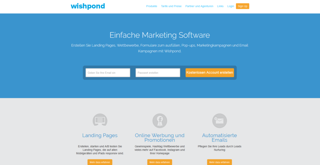Marketing Automation Software Wishpond