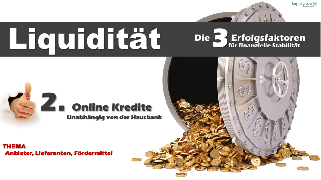 Liquidität Online Kredite