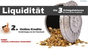 Online Kredite – Erfolgsfaktor für finanzielle Stabilität