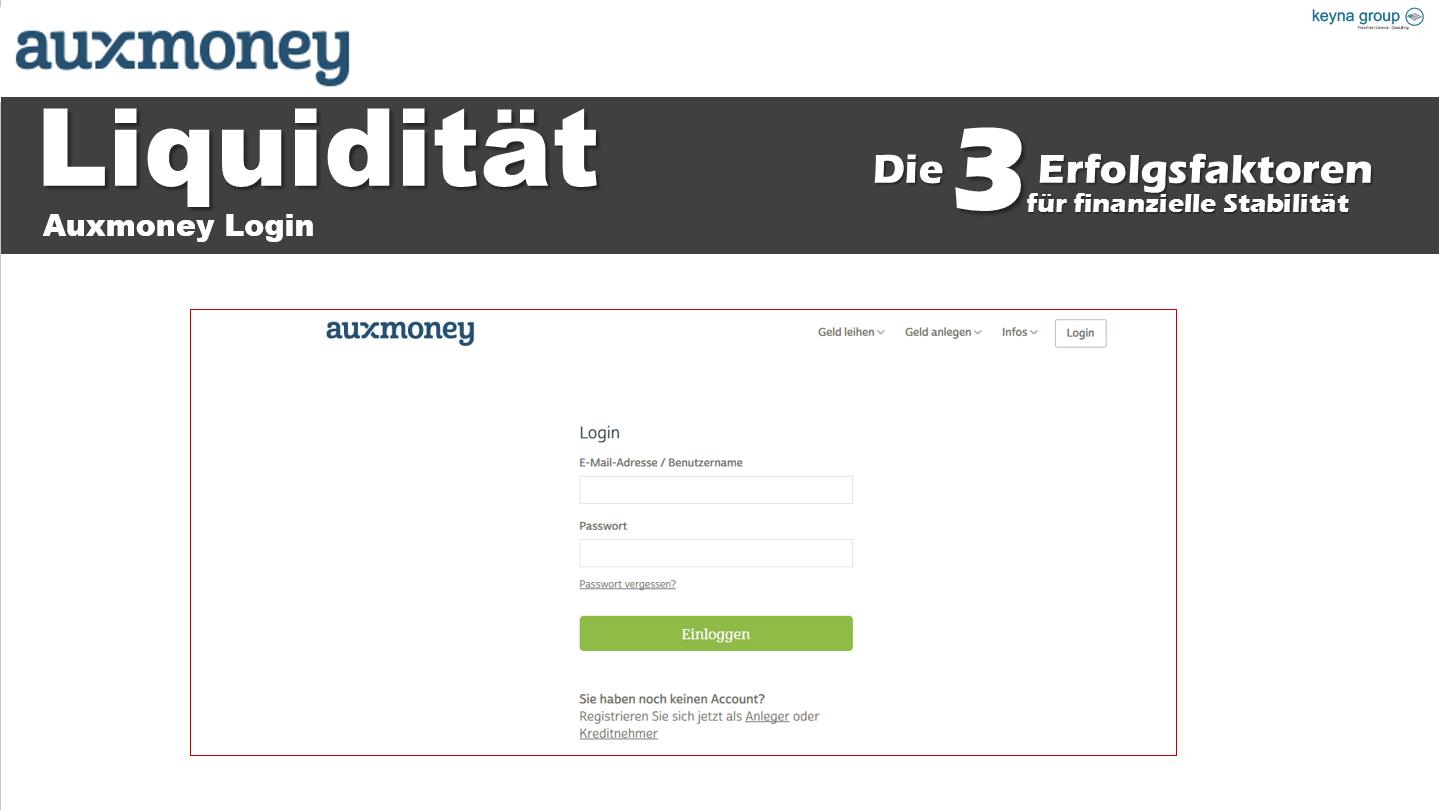 Auxmoney, Online Kredite – 50.000€ bei Auxmoney für Selbständige