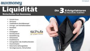 Online Kredite – 50.000€ bei Auxmoney für Selbständige