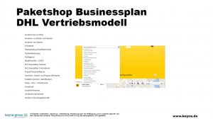 Businessplan Paketshop