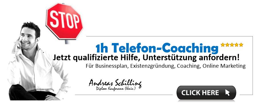 Telefon Coaching Gründungsberatung, Unternehmensberatung