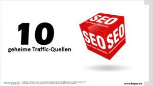 Traffic Marketing – Meine 10 geheimen Traffic-Quellen