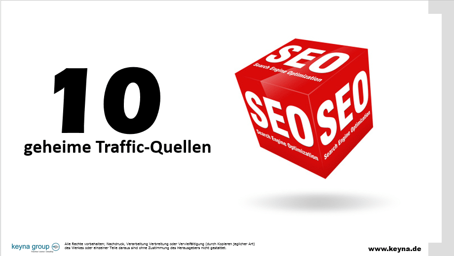 Traffic Marketing – Meine 10 geheimen Traffic-Quellen
