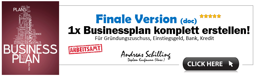 Businessplan Vorlage, Businessplan erstellen