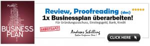 Businessplan Proofreading – So vermeiden Sie die TOP 10 Fehler effizient