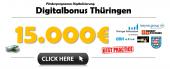 Übersicht Förderprogramm Digitalisierung – Digitalbonus Thüringen