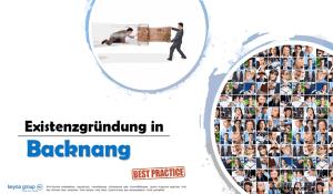 Existenzgründung in Backnang
