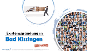 Existenzgründung in Bad Kissingen
