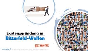 Existenzgründung in Bitterfeld-Wolfen