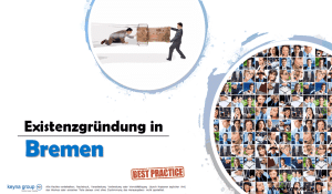 Existenzgründung in Bremen