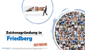 Existenzgründung in Friedberg