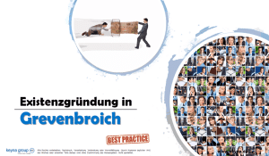 Existenzgründung in Grevenbroich