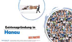Existenzgründung in Hanau