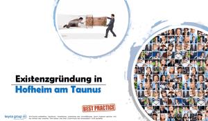 Existenzgründung in Hofheim am Taunus