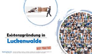 Existenzgründung in Luckenwalde