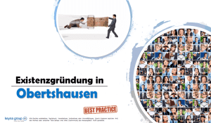 Existenzgründung in Obertshausen
