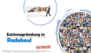 Existenzgründung in Radebeul