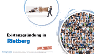 Existenzgründung in Rietberg