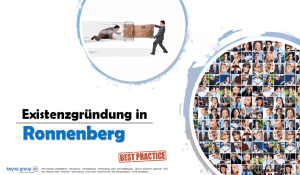 Existenzgründung in Ronnenberg