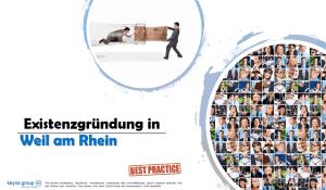 Existenzgründung in Weil am Rhein