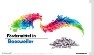 Fördermittel in Baesweiler
