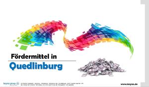 Fördermittel in Quedlinburg