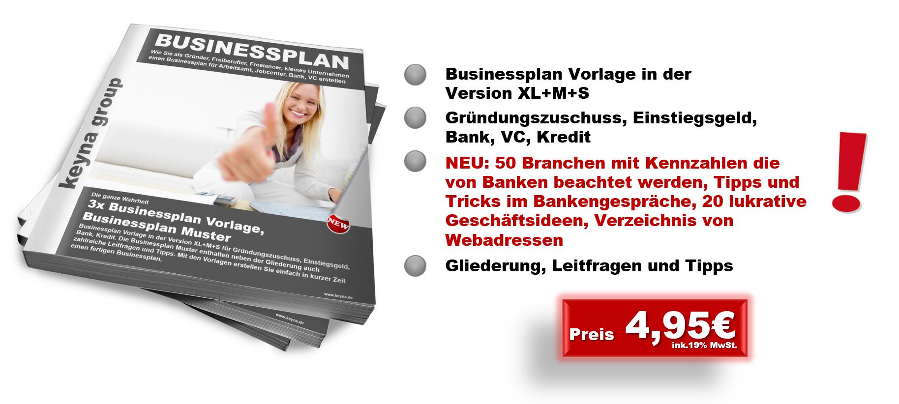 Businessplan erstellen, Businessplan erstellen – erfolgreich Selbstständig machen