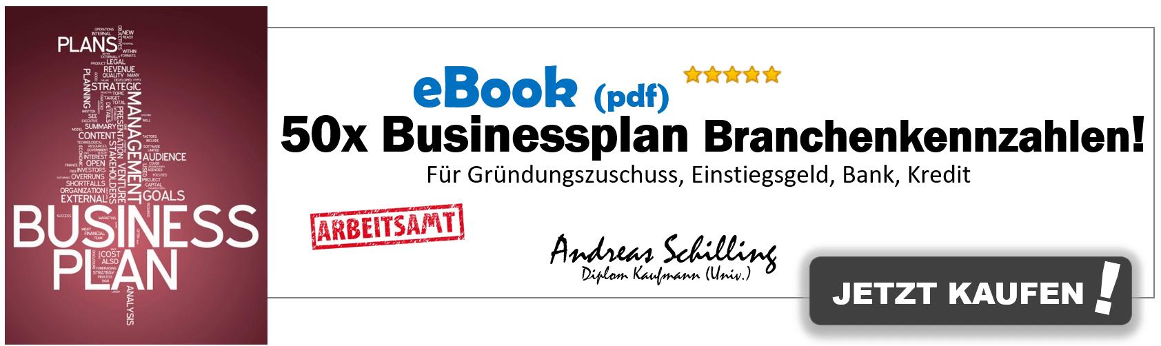 Businessplan Branchenkennzahlen, Businessplan Branchenkennzahlen –  Die Bank schaut genau hin