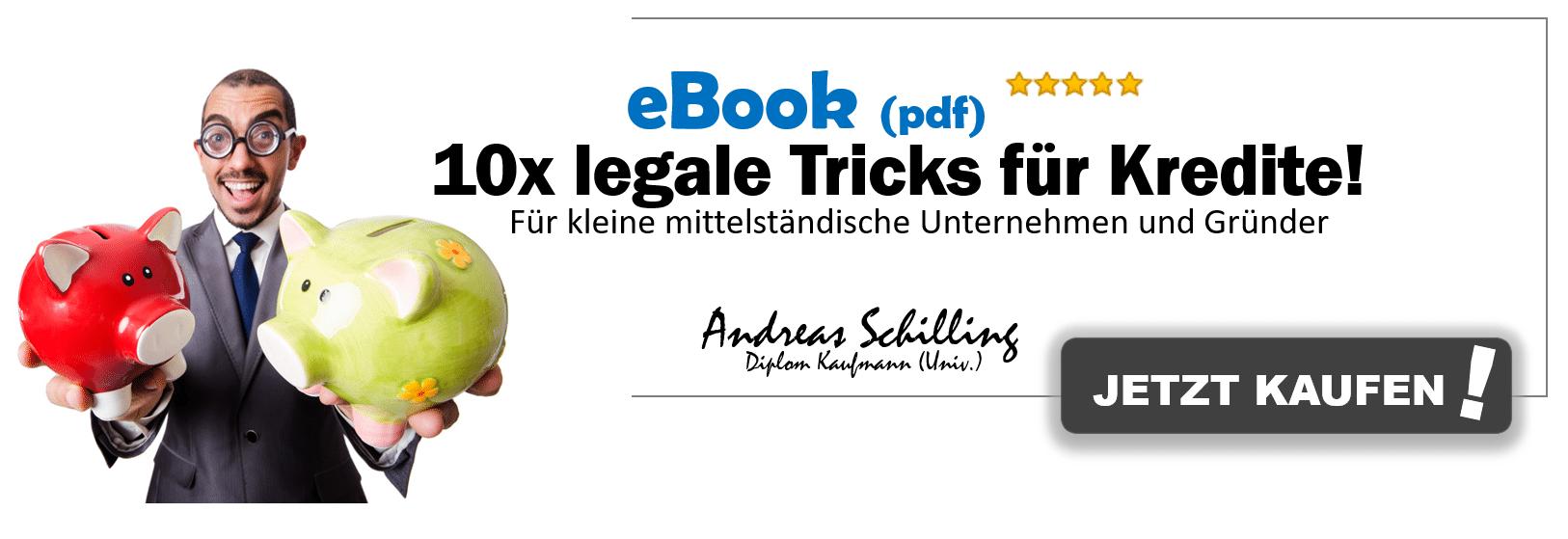Firmenkredit, Firmenkredit schufafrei und alternative Finanzierungen – 10 legale Tricks